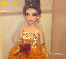 DISNEY DESIGNER COLLECTION DOLL  - BELLE w/ BAG - BNIB MINT - LTD ED 6240/8000