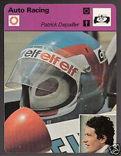 PATRICK DEPAILLER Grand Prix Auto Racing Driver 1979 SPORTSCASTER CARD 79-01