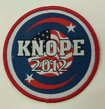 Knope 2012 embroidered patch