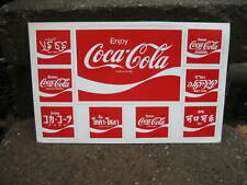 Vintage Rare Lot Of 7 Coca Cola Is #1 Because Of Me Stickers