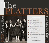 The Platters - 7 Original Albums [CD]