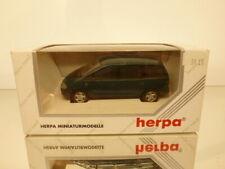 HERPA VW VOLKSWAGEN SHARAN CARAT - GREEN METALLIC 1:43 - EXCELLENT IN BOX