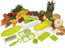 Super Slicer Plus VERDURA FRUTTA affascinante PELAPATATE DICER CUTTER CHOPPER grata grater