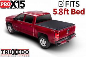 Truxedo Pro X15 Roll Up Tonneau Cover 08-13 Chevy Silverado/GMC Sierra 5.8' Bed