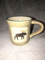 Sonoma Home Lodge Stoneware Coffee Hot Chocolate Mug Winter Cabin