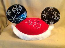 Disneyland Hat CHRISTMAS Snowflake Mickey Mouse Disney Ears Youth NEW B6