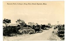 Hyannis Mass MA - COTTAGES ON SHORE ROAD AT HYANNIS PARK - Postcard Cape Cod