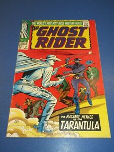 Ghost Rider #2 Silver age VF- Beauty Western