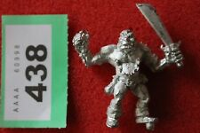Citadel Warhammer Ogre MM42 Marauder Miniatures Games Workshop Ogres OOP Metal B