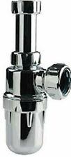 Multikwik Marley Chrome plated polypropylene 40mm adjustable Sink Bottle Trap
