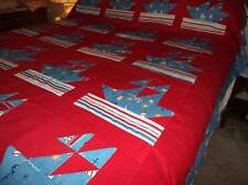 SHIP QUILT TOP~~ MADE IN AMERICA