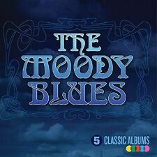 5 Classic Albums - Moody Blues (2015, CD NEUF)