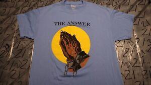 Large NWOT The Answer = Jesus T Shirt