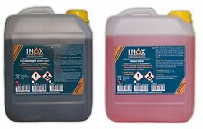INOX® Felgenreiniger Wheel Star 5 Liter + INOX® Insect Clean 5 Liter