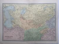 1885 Central Asia Tartary  Antique Map by John Bartholomew & George Philip