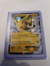 Pikachu EX - Black Star Promos - XY174 - Holo Mint Condition + Top Loader