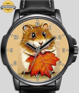 Hiding Mouse Scared Novelty Art Unique Unisex Beautiful Wrist Watch UK FAST