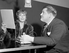 Joan Blondell, Tom Hanlon in 1939 Lux Radio Theater OLD RADIO PHOTO