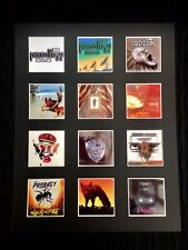 "Prodigy Keith Flint LP Discography Mounted Picture 14"" by 11"" Free Postage"