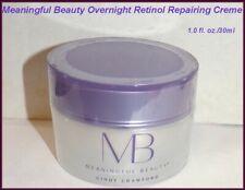 NEW & FACTORY SEALED  Meaningful Beauty Overnight Retinol Reparing Creme/Cream