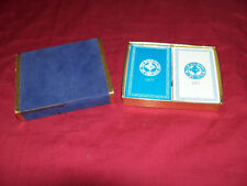 Old Playing Cards The Bond Club of Chicago Vintage Poker Card Deck 2 Collectible