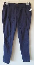 Old Navy Womens 4 Regular Navy Sweetheart Pants Cotton Stretch New