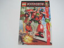 ***BOOK ONLY***  LEGO Exo-Force (7701) **INSTRUCTION MANUAL ONLY***