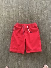 Gap Kids Boys Red Elastic Waist Cotton Shorts Size L NWOT