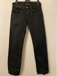 Stone Island Denims Five Pockets Basic Model Black Mens Jeans W32 L32