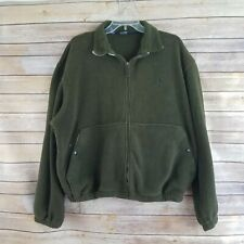 Polo Ralph Lauren Men's Vintage Fleece Jacket Full Zipper Made in USA Size XL
