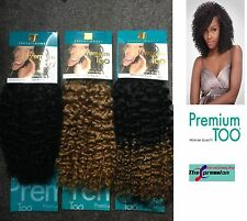 Sensationnel Premium Too Jerry Curl 100% Human Hair Weave 14inch UK AUTHORIZED