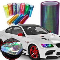 30cm x 120cm Purple Chameleon Auto Car Headlight & Tail Light Film Decal Sticker