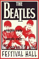 THE BEATLES MELBOURNE 1964 CONCERT POSTER A3 POSTER