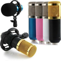 Condenser Pro Audio BM800 Microphone Sound Studio Dynamic Mic + Shock Mount