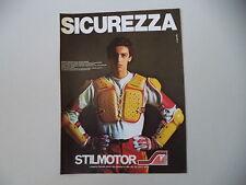 advertising Pubblicità 1981 STILMOTOR e RENATO ZOCCHI