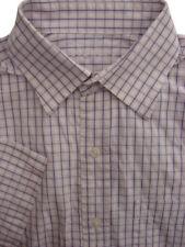 OSBORNE Shirt Mens 15.5 M Pink - Check SHORT SLEEVE