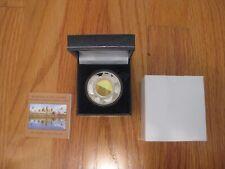 2001 Cambodia Angkor Wat Silver Proof Hologram Coin-Wonders of the World-MIB/COA