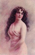 ILLUSTRATORE ITALIANO Donnina Nudo Sexy Nude Girl PC Circa 1920 2