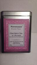 Nottingham Finest Teas Chai Spice Tea in Tin 40ct String & Tag Bags