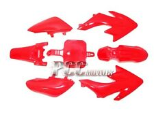RED PLASTIC FENDER KIT HONDA CRF XR50 CRF50 50 SSR M PS03