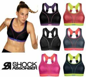 Shock Absorber Ultimate Run High Impact Running Activewear Sports Bra S5044