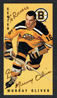 Murray Oliver #2 signed autograph auto 1994 Parkhurst Tall Boy Hockey Card