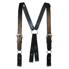 Boston Leather 9175R-1-XL Firefighter's Suspenders Button Attachment