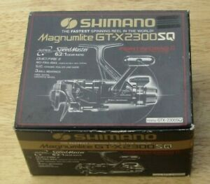 Shimano Speed Master Magnumlite GT-X 2300 SQ,6.2:1 Fast,3 Ball Bearing in box