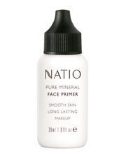 Natio Pure Mineral Face Primer ~ Smooth Skin ~ Long Lasting Makeup ~ 30mL NEW