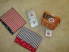 LONGABERGER Collectors Club 25th Anniversary Basket Combo
