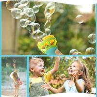 Mini Fan Bubble Blower Gun Summer Funny Water Bubble Maker Kids Outdoor Toy