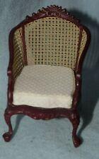 BESPAQ Chair With Wicker-Dollhouse Miniature