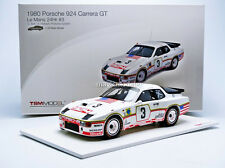 TSM Porsche 924 GT Le Mans 1980 Bell / Holbert #3 in 1/18 Scale LE of 500 New!