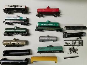 Ho Scale Tank Cars For Parts or Repair
